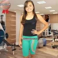 Bermuda Cotton Fitness Juvenil
