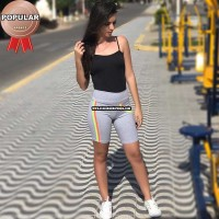 Bermuda Cotton Fitness Feminino