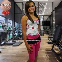 Capry Cotton Fitness Com Saia
