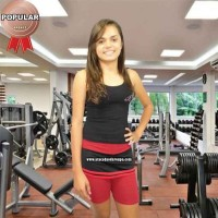 Short Cotton Fitness Com Saia