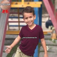 Camisa Infantil Gola V Pmg