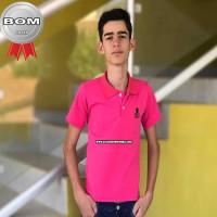 Camisa Gola Polo Piquet Juvenil