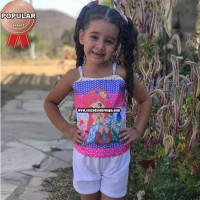Conjunto Infantil Personagens