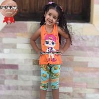 Conjunto Personagens Sublimada Infantil 3 a 4 Anos