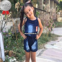 Macaquito Infantil Jeans
