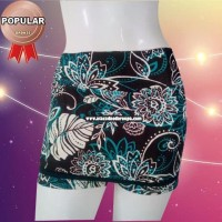 Short Saia Fitness Estampado Juvenil